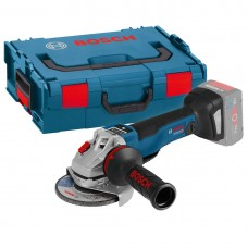 Bosch GWS 18V-125PSC 125mm Brushless Angle Grinder Body Only in L-Boxx